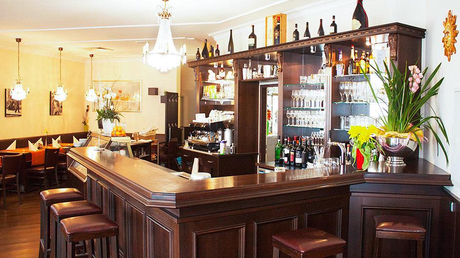 Unsere schöne Bar